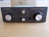 communications receiver antenna tuner