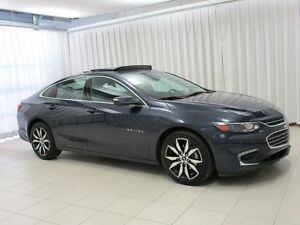 2017 Chevrolet Malibu LT SEDAN w/ HEATED SEATS, SUNROOF, ALLOYS,