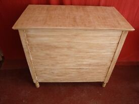 Large Vintage Storage Chest Painted In Annie Sloan Chalk Paint