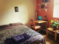 DOUBLE BEDROOM AVAILABLE IN A TWO BEDROOM GARDEN FLAT IN WILLESDEN GREEN