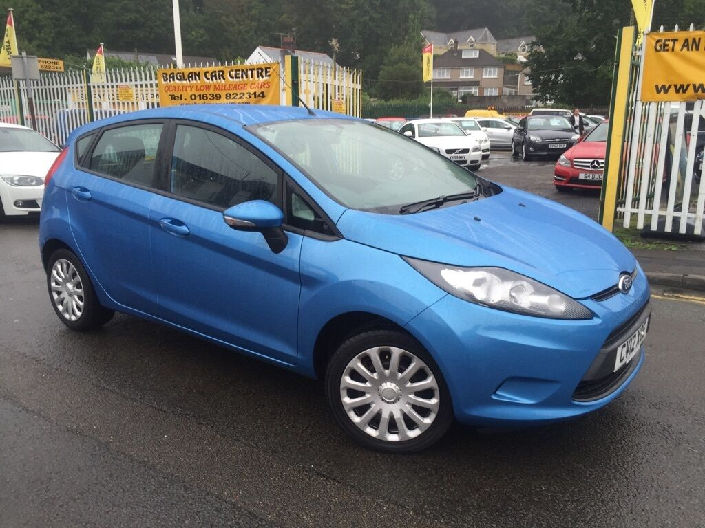 ford fiesta edge 5dr blue 2012 in baglan neath. Black Bedroom Furniture Sets. Home Design Ideas