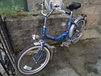 1980's fold up retro Elswick bike - great condition!