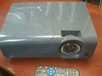 PROMETHEAN PRM-25 DLP PROJECTOR, WORKS GREAT WITH REMOTE !! IMAGE IS CLEAR & BRIGHT WORK