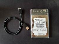 640 GB External HDD
