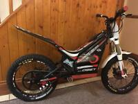 Oset electric trials bike