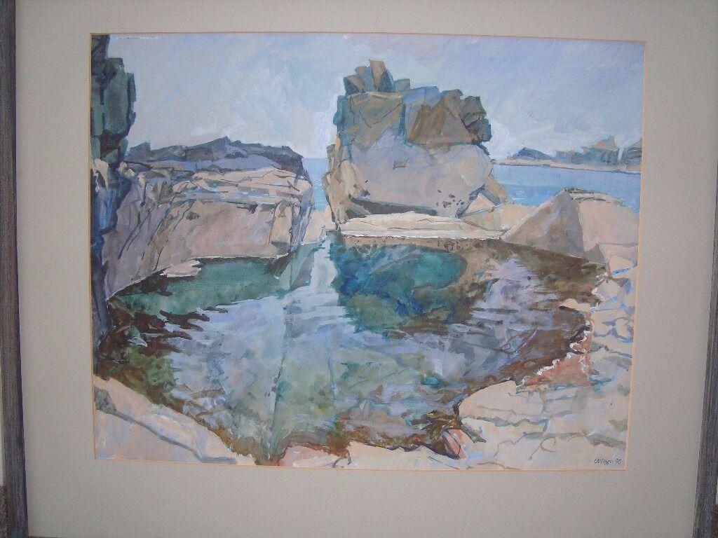 Original acrylic Painting by Carole Page Davies