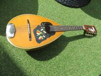 Mandolin, Bowl Back, Czech Made, With Case