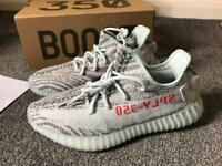 Brand new Blue tint yeezys 8.5 boxed with receipt