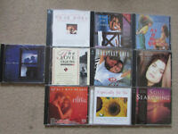 JOB LOT OF TEN LOVE THEME CD's, some Double will split and sell as single CD