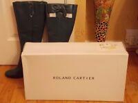 Roland Cartier Blue Boots