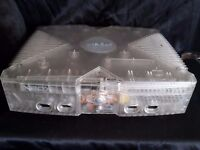 Xbox 360 Crystal Limited Edition Translucent Console