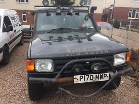 LAND ROVER DISCOVERY TDI 2.5L DIESEL *PROJECT*