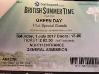 Green Day Concert Ticket Tomorrow! BARGAIN!!!