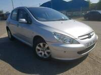 ANY PART EXCHANGE WELCOME, 307 1.6 AUTOMATIC, WARRANTED LOW MILEAGE OF 59K, 12 MONTHS MOT,