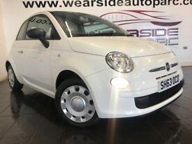 FIAT 500 1.2 Pop (s/s) 3dr (white) 2013