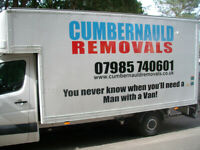 man with a LARGE van in with tail lift North lanarkshire, Cumbernauld, surrounding areas