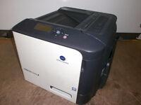 Konica Minolta magicolor 4750EN A4 Colour Laser Printer = 8814 !! Good condition