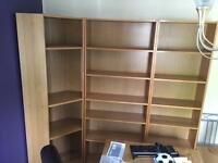 IKEA Billy bookcases/cabinets including corner unit