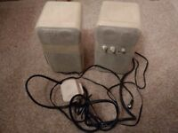 Stereo Speakers Mains Powered for PC / Games Console / Phone / Media Player