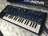 Novation MiniNova Synth inc box & all accessories
