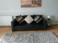 2 and 3 seater sofas and rug