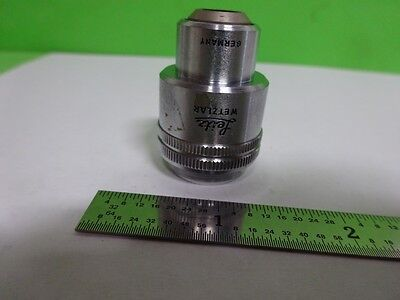 Microscope Part Objective Leitz Germany 10x Optics As Is Bin72-64