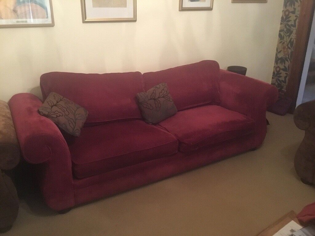 Sofas and Armchair for sale, together or separately | in ...