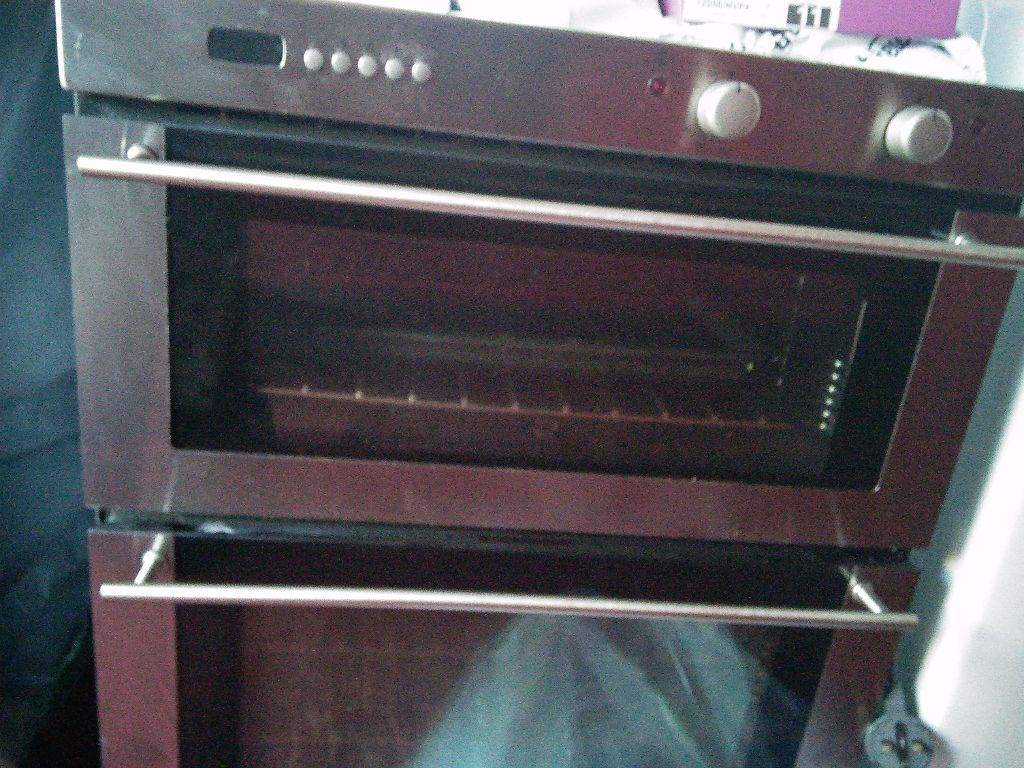 Belling Electric Stainless Steel Under Bench Double Oven