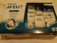Avent newborn bottle set