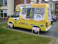 Hard Scoop ice cream van perfect working condition, surplus to requirements, End of season Sale.