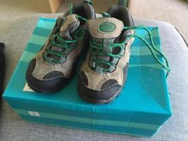 Kids children's mountain warehouse stampede walking shoes U.K. Size 10, hardly used