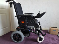 New Invacare 'Mirage' Black Electric Powerchair - 2016. Never Used