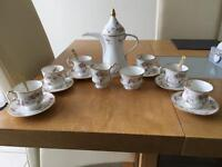 6 piece coffee set