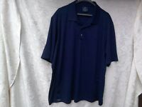 MENS CLEVELAND CLASSIC NAVY GOLF/ POLO SHIRT