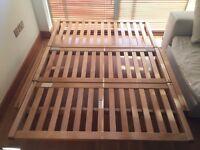 Futon Company 2 Seater Birch Double Sofa Bed Base Only RRP £649 Like Ikea Habitat
