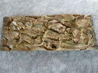 NEW large 3D Aquaium / Fish tank Background 114 x 44cm