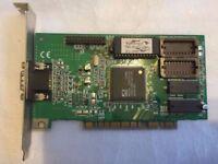 ATI WinCharger 109-32100-20 PCI Mach64 2MB Video Card