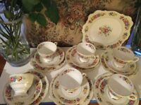BEAUTIFUL VINTAGE CHINA TEA SET, IDEAL FOR AFTERNOON TEA ETC