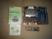 Motherboard CPU Bundle 3.4GHz Quad Core, AMD Phenom II x4 965 BE + Motherboard m4a87td evo + Cooler