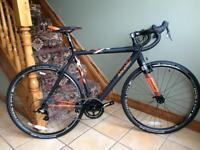 Raleigh RX Race full carbon Cyclocross Bike, New.(price reduced)