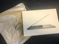 Macbook pro 13inch LATEST mac touch pad, 3.3ghz