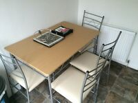 Argos Oslo table and chairs £20