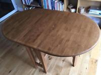 Gateleg Rosewood Dining Room Table