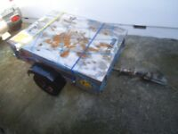 Car trailer - 4x3 with galvanised top £110 cash