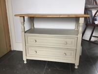 Oak Table with Drawers