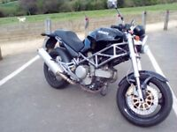 Ducati Monster 620ie 2004 (54) For Sale, 15,200 miles.£2100