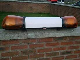 Recovery or transport roof light bar