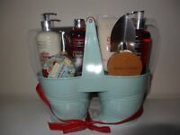 Winter In Venice French Linen Twin Pots RRP £40