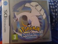 Pokemon Soul Silver for Nintendo 3DS.