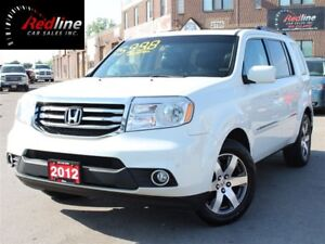 2012 Honda Pilot Touring 4WD NAVI-DVD-CAMERA-BLUETOOTH